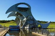 Tartan Tours Scotland The Falkirk Wheel in action