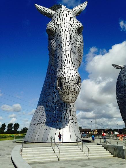 Tartan Tours Scotland The Kelpies