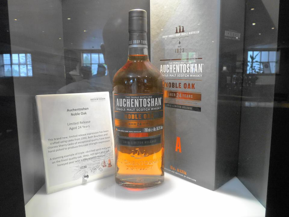 Whisky and Wallace Tour Auchentoshan